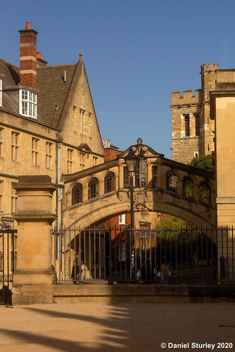 The Bridge of Sighs, Oxford.