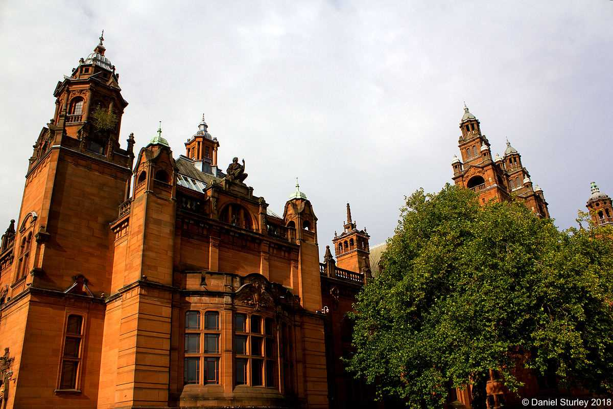 The Kelvingrove Art Gallery and Museum. Glasgow