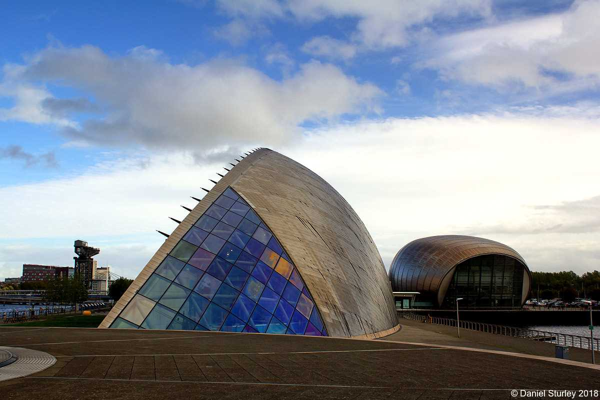 The Science Centre with the IMAX Theatre, Glasgow