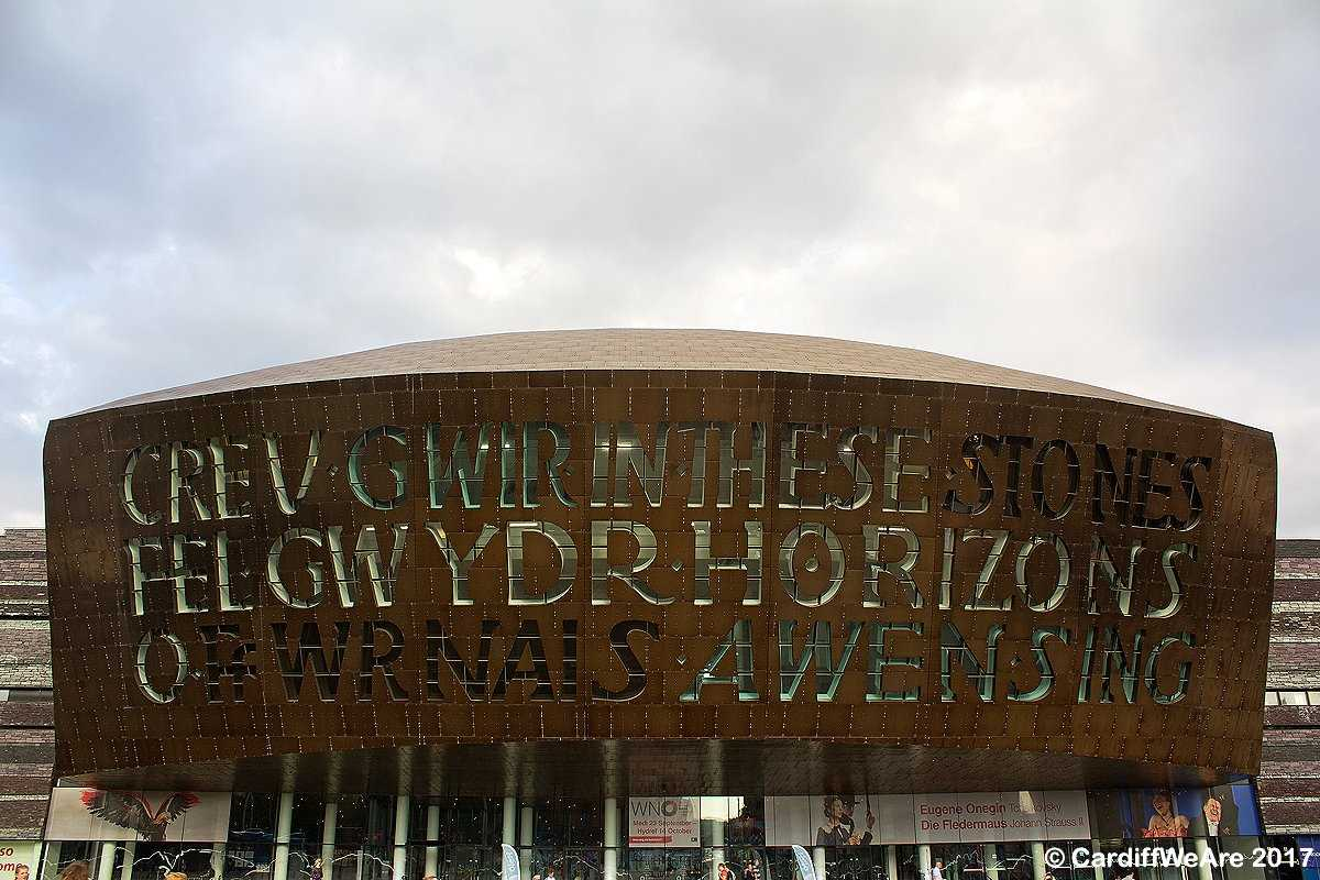 The Cardiff Millenium Centre, Cardiff.